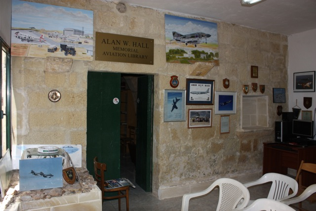 Alan W Hall Memorial Aviation Library - Malta Aviation Society Premises - Photo © Malta Aviation Society